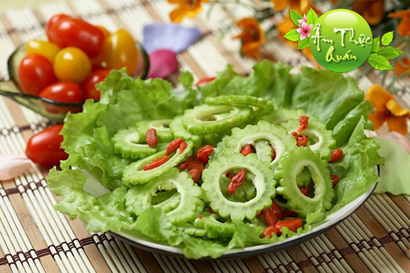 Mướp đắng - Một trong  Những thức ăn có tác dụng giải độc