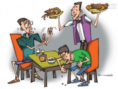 Cách nhận biết khi bị ngộ độc thực phẩm