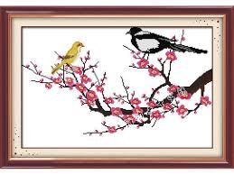 """Cách làm Tranh Thêu Chữ Thập đẹp như một bức """"Phong Hoa Tuyết Nguyệt"""" dành cho người mới vào"""