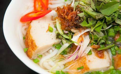 Bánh canh chả cá Bình Định