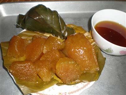 Bánh gio Thái Nguyên