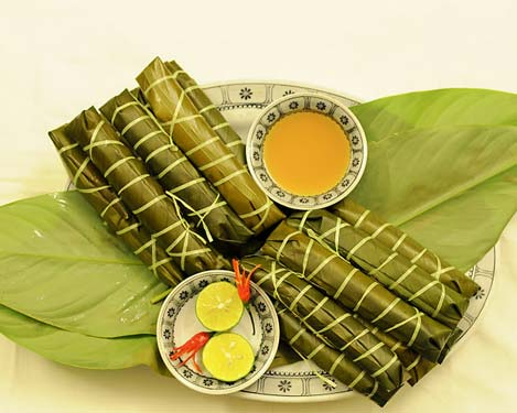 Bánh tẻ làng Chờ Bắc Ninh