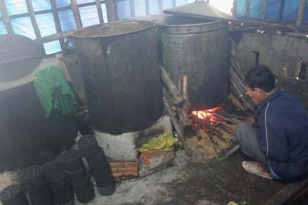 Bánh tét làng Chuồn