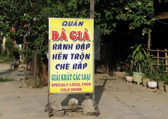 Bánh tráng đập Quảng Nam