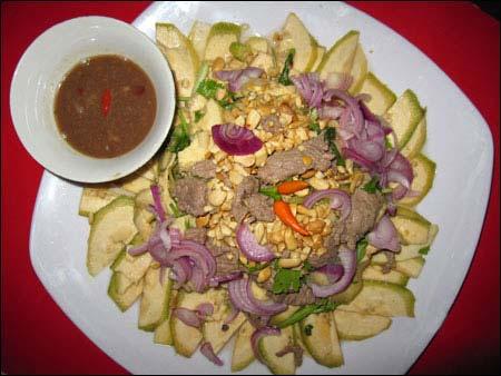 Bò thấu chuối chát Huế