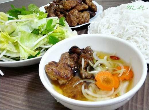 Bún chả Nam Định