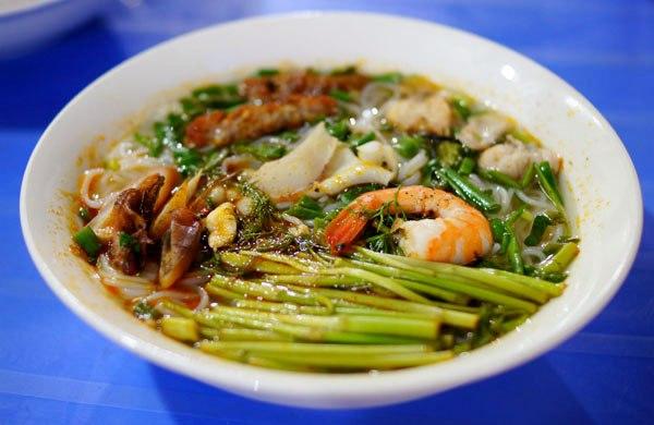 Bún hải sản Hà Nội