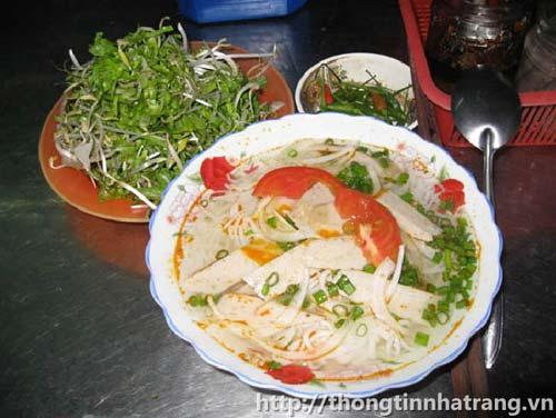 Bún lá cá dầm Khánh Hòa