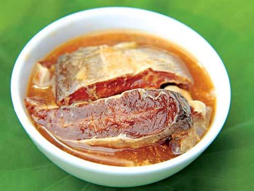 Cá Leo nướng muối ớt An Giang