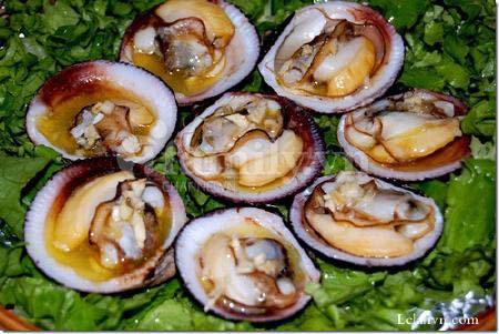 Các món nghêu, sò, ốc Đồng Nai
