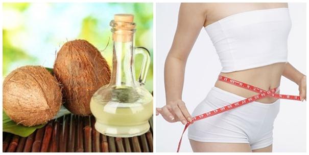 Tác dụng của dầu dừa trong giảm cân
