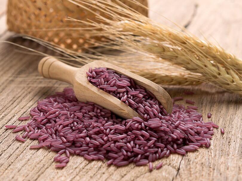 8 công dụng của gạo tím than đối với sức khỏe