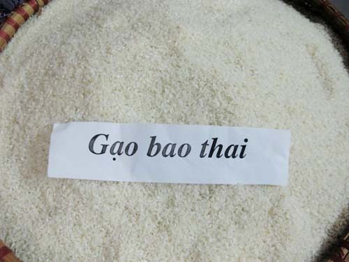 Dẻo thơm gạo Bao thai Định Hóa