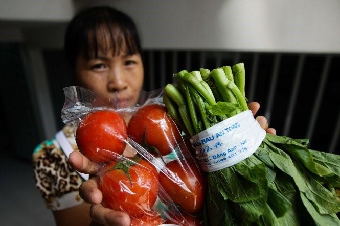 Gian nan tìm cửa hàng rau sạch