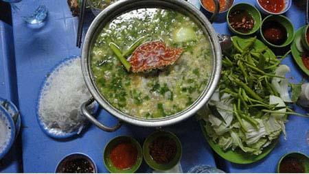 Lẫu ghẹ Bình Thuận