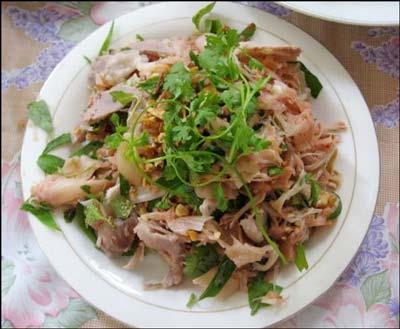 Mít trộn Quảng Nam