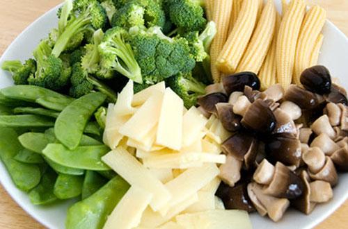 Cháo thập cẩm - món ăn chay bổ dưỡng cho người mang thai