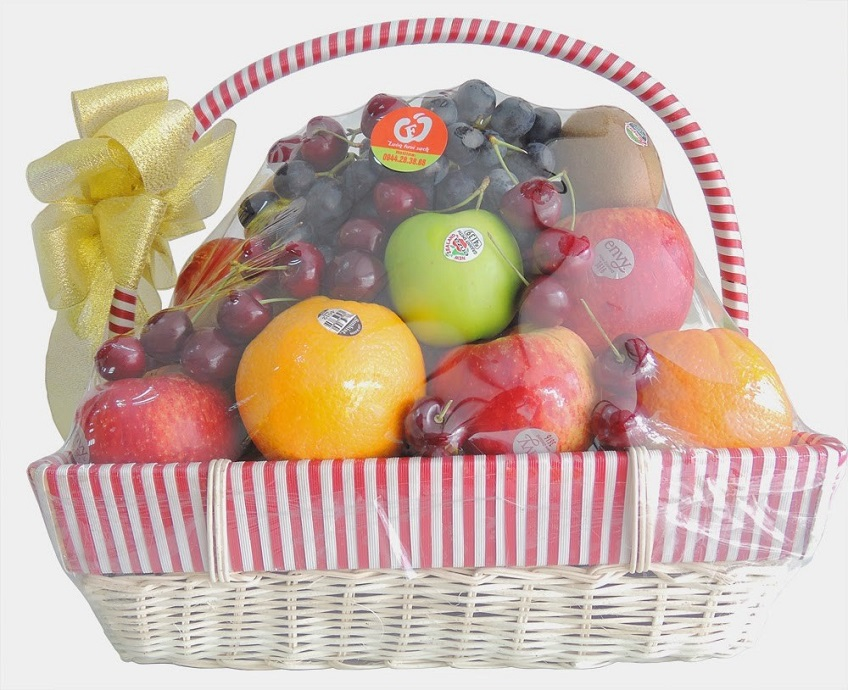 Không thể bỏ qua những món quà tặng Tết độc đáo từ trái cây này