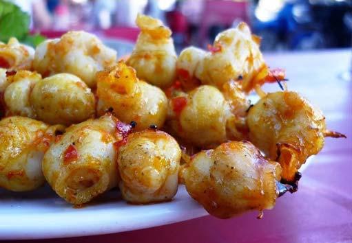 Răng mực nướng Bình Thuận