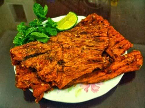 Thịt bò khô Hà Giang