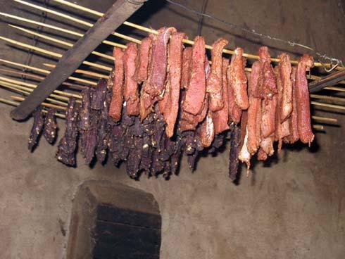 Thịt sấy khăng gai Sapa