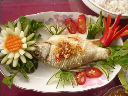 Thơm ngon cá trãnh Quảng Nam