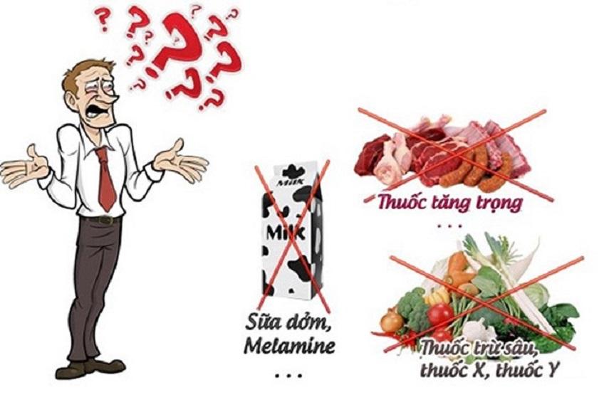 Tại sao thực phẩm bẩn gây ung thư?