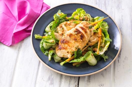 Salad gà Thái cà rốt thanh đạm và tốt cho sức khỏe
