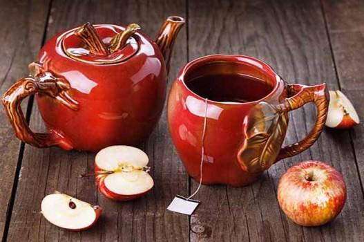 Tự làm trà táo quế an toàn cho sức khỏe
