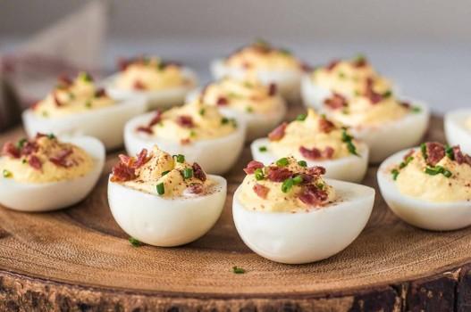 Cách làm món trứng ác quỷ kiểu Guacamole