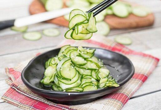 Học người Nhật cách làm Salad dưa leo thơm ngon, bổ dưỡng