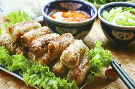 Cách làm món nem rau củ cho cả nhà