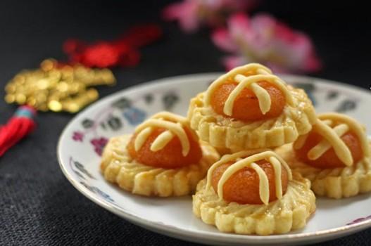 Bánh tart dứa mini thơm ngon, đẹp mắt