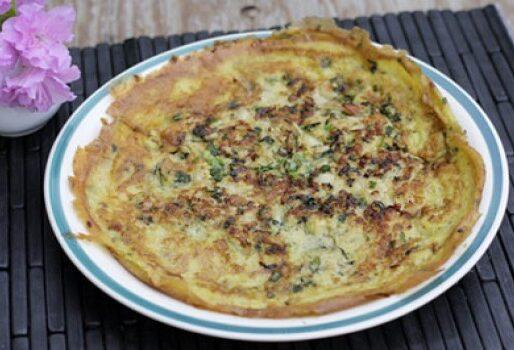 Trứng rán nấm