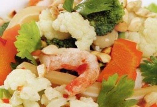 Gỏi bông cải chay
