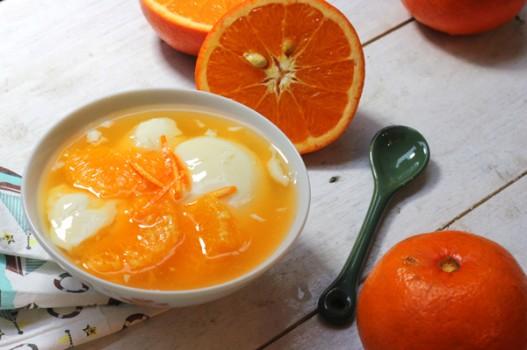 Chè cam tào phớ cho ngày nắng nóng