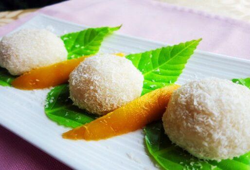 Bánh mochi xoài cho tín đồ ẩm thực Nhật