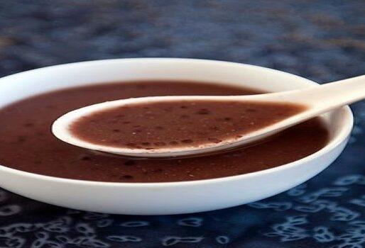 Súp chè đậu đen