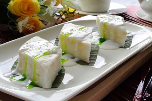 Làm bánh củ năng nước cốt dừa thơm ngon