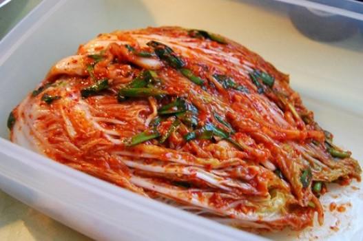 Kim chi cải thảo ngon ngon, hấp dẫn