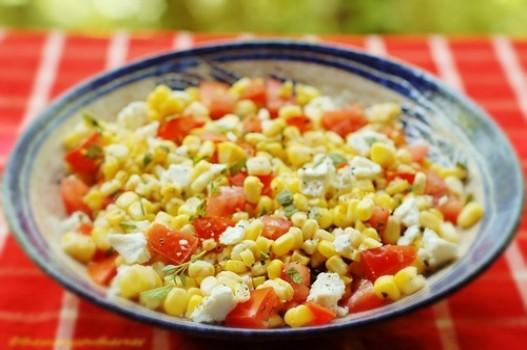 Salad ngô pho mát