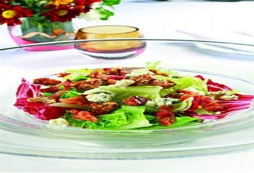 Salad balsamic, hạt óc chó