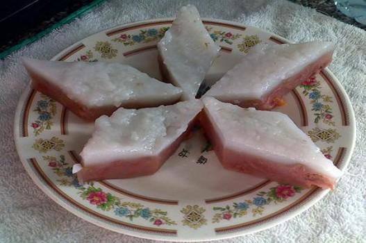 Bánh chuối hấp gia truyền