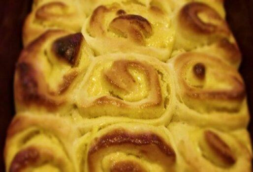 Bánh chanh cuộn chua ngọt
