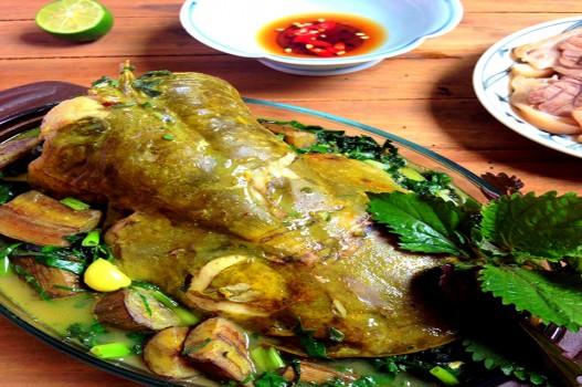 Cá nheo om chuối ngon đắm đuối