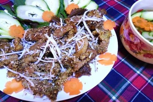 Đổi món với thịt nướng thơm ngon