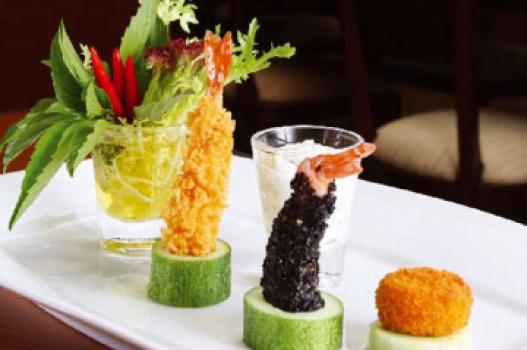 Hải sản chiên tempura