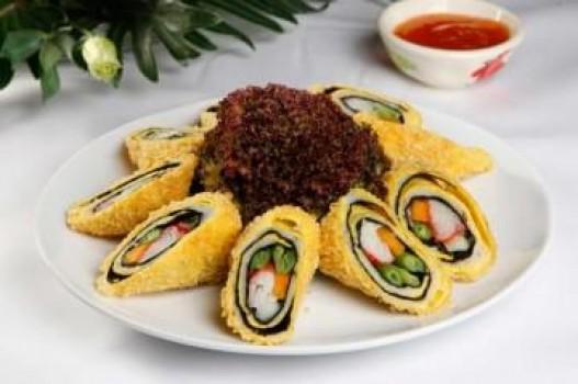 Cá thác lác cuộn cua