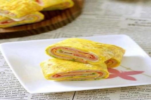 Bánh trứng cuộn 3 lớp